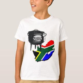 T-shirt Cadeaux sud-africains de drapeau d'amants de