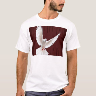 T-shirt Cadeaux volants de couleur de chocolat de colombe