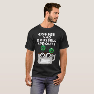 T-shirt Café et choux de bruxelles