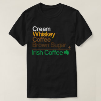 T-shirt Café irlandais