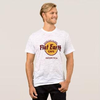 T-shirt Café plat de la terre - SAUVEZ l'AVION -