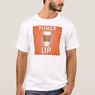 T-shirt Café - votre super pouvoir !