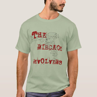 T-SHIRT , CAGE THORACIQUE, REVOLVERS