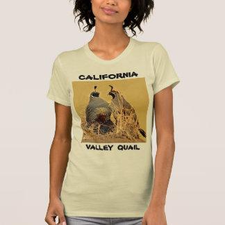 T-shirt Cailles de vallée (la Californie)