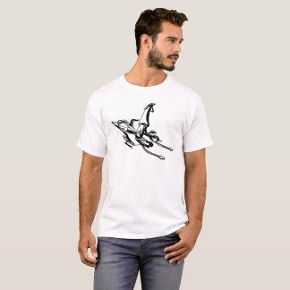 T-shirt Calmar de jet de tube
