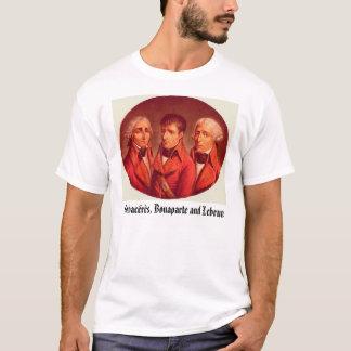 T-shirt Cambacérès, Bonaparte et Lebrun.