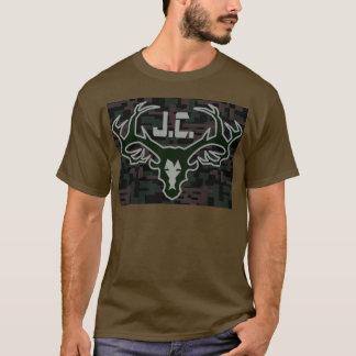 T-shirt Came de Digi de tête de trophée de pays de Jésus