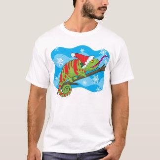 T-shirt Caméléon de Noël