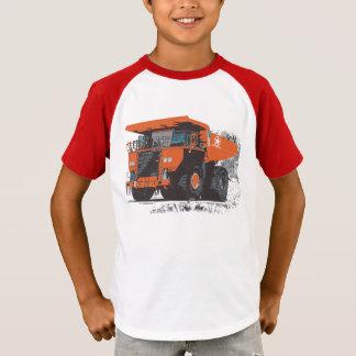 T-shirt Camion #1 orange géant énorme