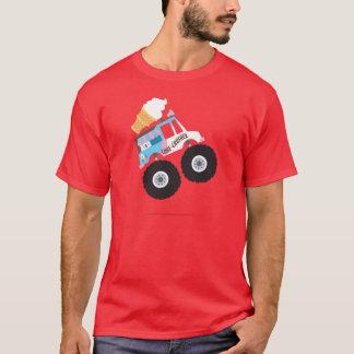 T-shirt Camion de monstre de crème glacée