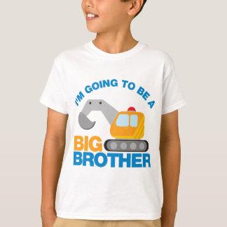 T-shirt Camion défonceur allant être un frère