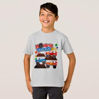 T-shirt Camions de monstre