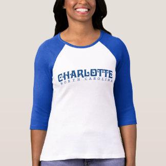 T-shirt camisa de ville de reine
