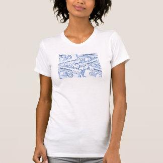 T-shirt camisole d'enregistreur à cassettes de betaphonics