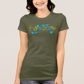 T-shirt Camo de l'eau de Washington