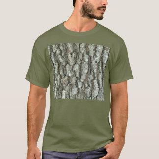 T-shirt Camouflage en bois de nature de Camo d'écorce de