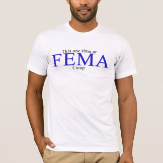 T-shirt Camp de FEMA