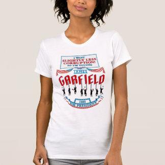 T-shirt Campagne de James Garfield 1880 (la chemise légère