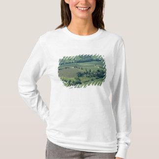 T-shirt Campagne près de Montepulciano, d'Orcia de Val,