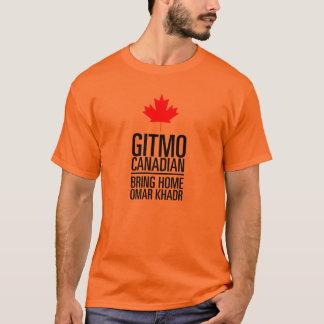 T-shirt CANADIEN de GITMO (Guantanamo) - customisé