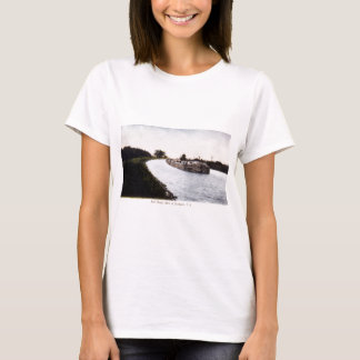 T-shirt Canal d'Erie, à l'ouest de Broadport, New York