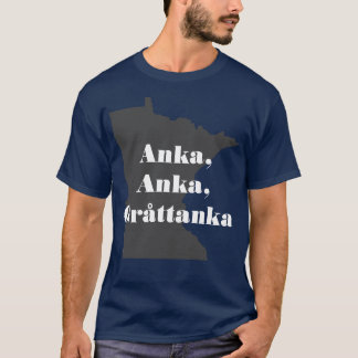 T-shirt Canard, canard, canard gris