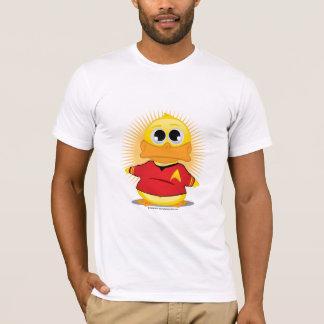 T-shirt Canard rouge de chemise de St