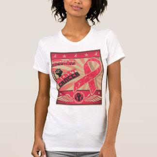 T-shirt Cancer du sein de battement