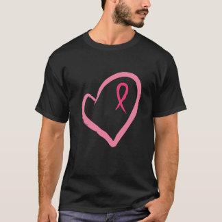 T-shirt Cancer du sein de soutien