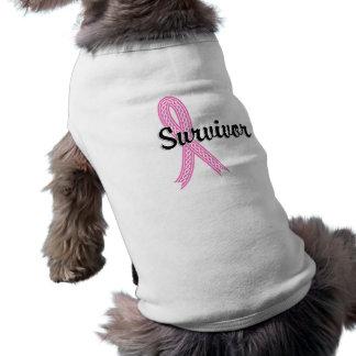 T-shirt Cancer du sein du survivant 17
