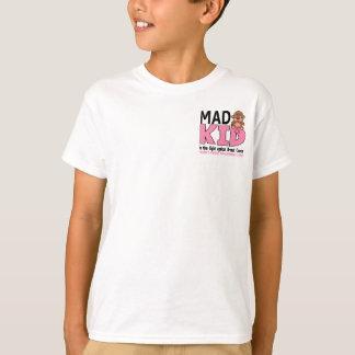 T-shirt Cancer du sein fou d'enfant