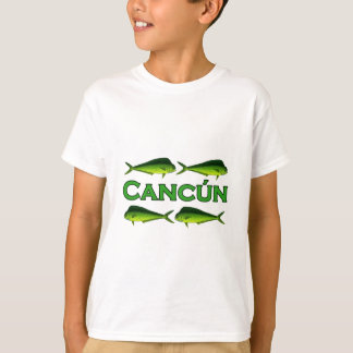 T-shirt Cancun Dorado