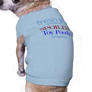 T-shirt caniche de jouet corrompu