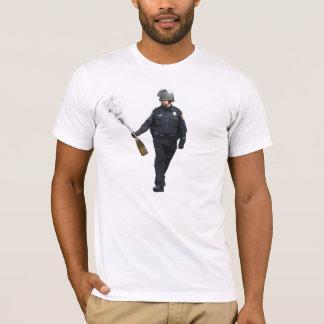 T-shirt Cannette de fil Champagne de spray au poivre