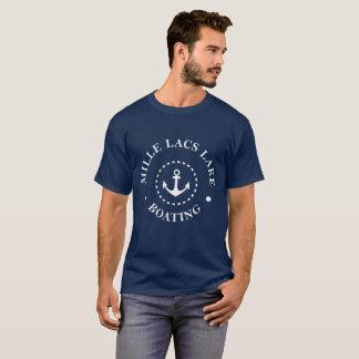 T-shirt Canotage de lac lacs de Mille