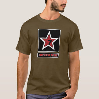 T-shirt Capitaine Awesome (fort)