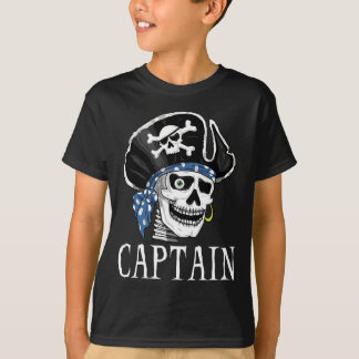 T-shirt Capitaine borgne de pirate