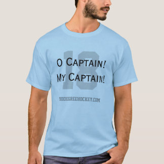 T-shirt Capitaine d'O ! Mon capitaine !