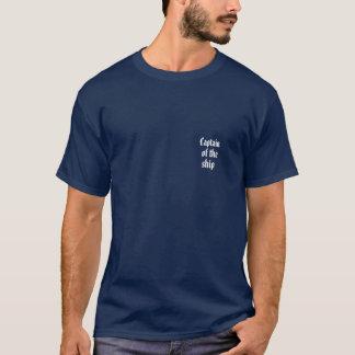T-shirt Capitaine du bateau