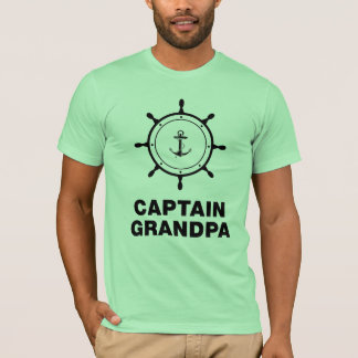 T-shirt Capitaine Grandpa