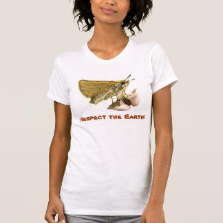 T-shirt Capitaine le jour de la terre de Milkweed