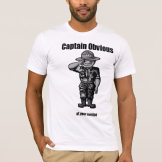 T-shirt Capitaine Obvious