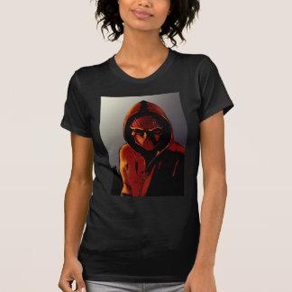 T-shirt Capot rouge