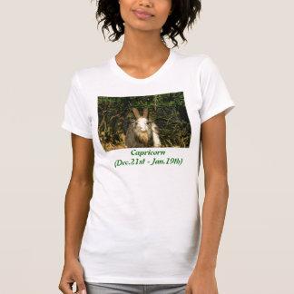 T-shirt Capricorne (décembre, 21èmes - Jan.19th)