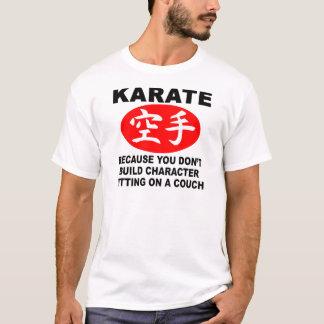T-shirt Caractère de karaté