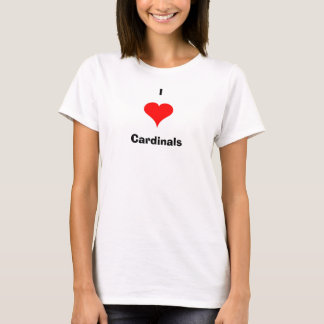 T-shirt cardinaux du coeur i