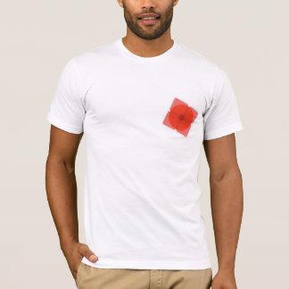 T-shirt Cargaison illégale : Carré rouge