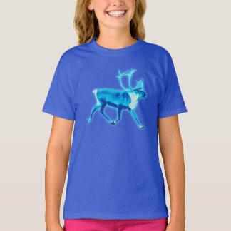 T-shirt Caribou bleu (renne)