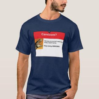T-shirt Carnivore ?