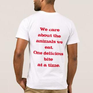 T-shirt Carnivores qui s'inquiètent : Une morsure